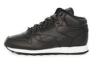 """Оригинальные кроссовки Reebok Classic Leather Mid Basic """"Black"""" (BD2539)"""