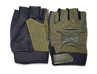 Перчатки тактические Mechanix MPACT (без пальцев) олива