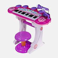 Синтезатор - пианино  BB450D с микрофоном
