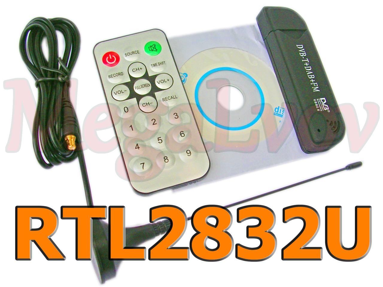 SDR приёмник RTL2832 USB DVB-T RTL2832U + FC0012