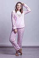 Теплая женская махровая пижама Турция LA-6933-2