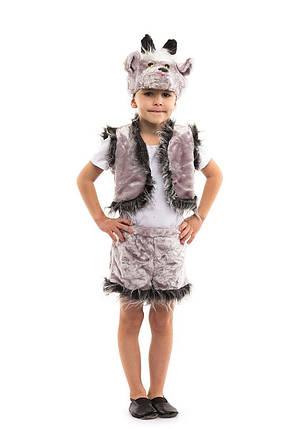 Карнавальный костюм Козлик белый, серый, фото 2