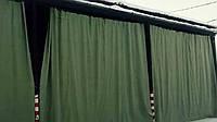 Шторы из брезента для утепления ворот в складе, фото 1