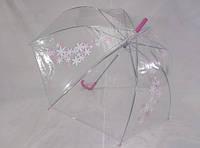 Подростковые прозрачные зонтики № 0027