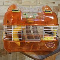 Клетка для мелких грызунов  Золотая клетка M03 ( 44х27х29 см)
