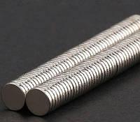Неодимовые магниты маленькие 5x1 мм, круглые