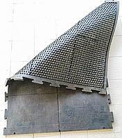 """Резиновый мат """"COW MAT"""" (1200х1800х25 мм.) для коров"""