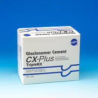 Цемент для фиксации GlasIonomer Cement CX-Plus Triple Set