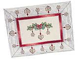 Скатерть новогодняя гобеленовая, 137х180 см, Эксклюзивные подарки, Новогодний текстиль, фото 9