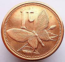 Папуа новая Гвинея 1 тойа 2004