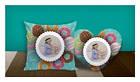 "Подушка сердце с местом для сублимации А4 формата ""Donuts"", фото 2"