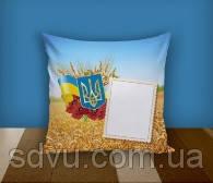 """Подушка с местом для сублимации А4 формата """"Ukraine"""""""