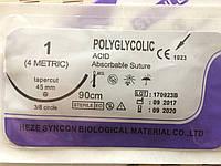 Шовный материал ПГА USP 1 (Викрил) с иглой