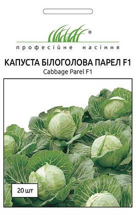 Семена капусты Парел F1 20 шт, Bejo Zaden, фото 2