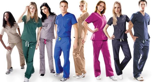Стильные медицинские костюмы
