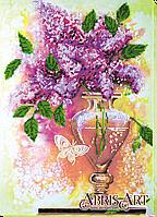 Набор для вышивания бисером Сиреневый натюрморт AB-528