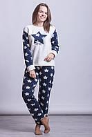 Зимняя женская теплая пижама Турция LA-6942-2