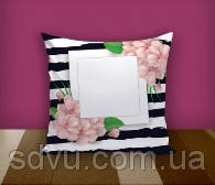 "Подушка с местом для сублимации А4 формата ""Flowers"""
