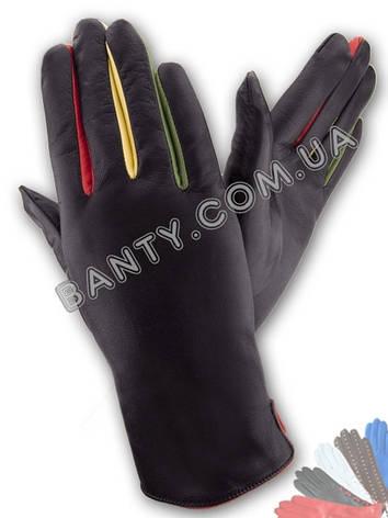 Женские перчатки на шерстяной подкладке модель 155, фото 2