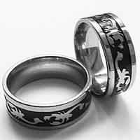 """Стальное кольцо """"Скорпион"""". Размеры 18, 19, 20, 21."""