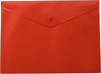 Папка-конверт А5 на кнопке, красный bm.3935-05