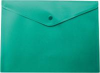 Папка-конверт А5 на кнопке, зеленый bm.3935-04