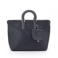 Женская сумка David Jones черная с короткими ручками