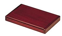 Контейнер для визиток деревянный, складной, красное дерево 1316wdm