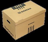Короб для архивных боксов с накидной крышкой, коричневый 7666301pl-02