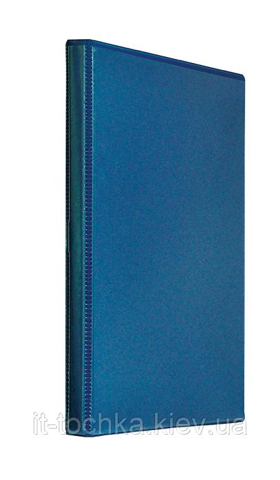 Папка Панорама А4 panta plast 0316-0024-02 темно-синяя ширина торца 40 мм