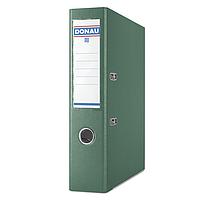 Папка регистратор premium А4 donau 3975001pl-06 зеленый ширина торца 75 мм
