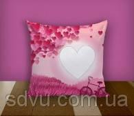 "Подушка с местом для сублимации А4 формата ""Romance"""