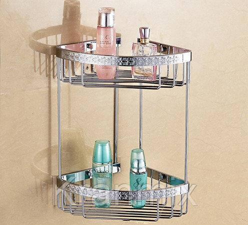 Полка для ванной Aquaroom хром
