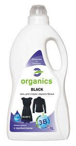 Гель для стирки черного белья Organics Black, фото 2