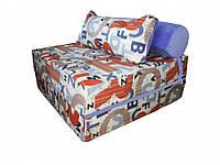 Бескаркасное кресло-кровать с подушкой 100-100-90 см Tia-sport