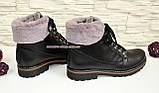 Женские ботинки на шнуровке, фото 3