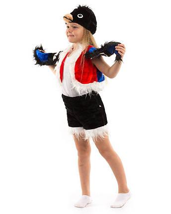 Карнавальный костюм Снегирь мех, фото 2