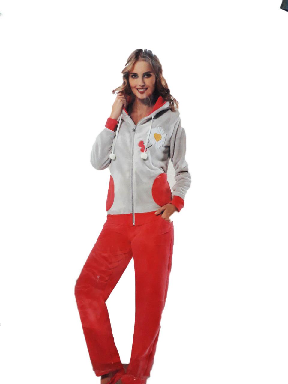 Махровая пижама очень тёплая