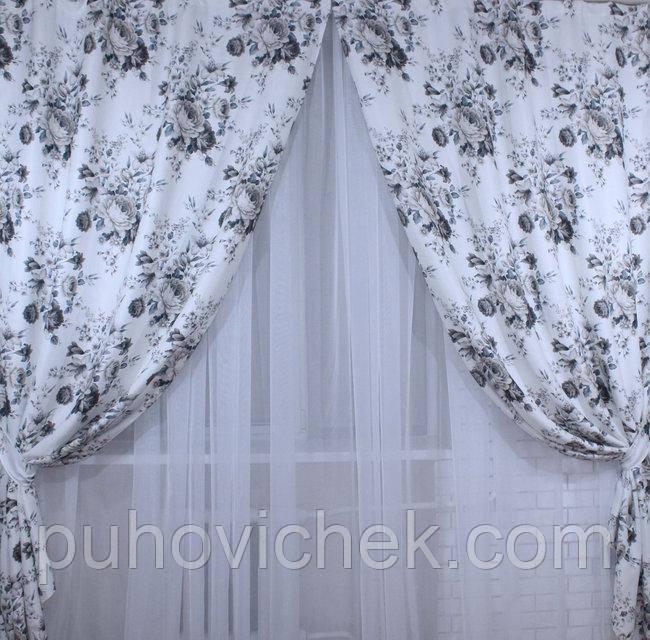Плотные шторы для гостинной интернет магазин