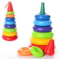 """Іграшка """"Пірамідка видувна 2  43×19.5×19.5 см ТехноК"""" 0984"""