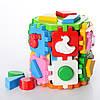 """Куб """"Розумний малюк Конструктор 17×14×14 см ТехноК"""" 2001"""