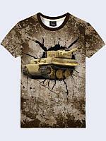 Футболка Tank in battle