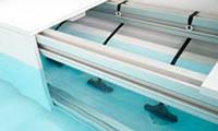 Покриття ролетне підводне RollInSide 2 біле 5х10 м електричне, фото 1