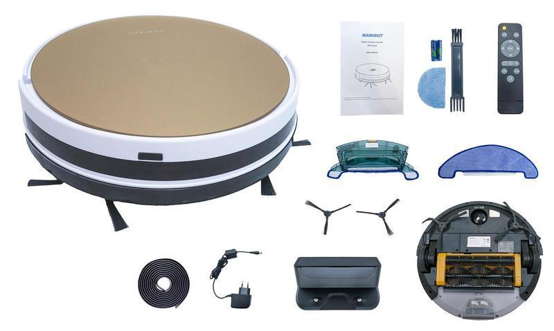 Моющий Робот-пылесос Mamibot PreVac 650 Wi-Fi Gold