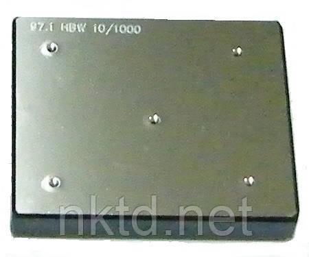 МТБ - Міра Твердості Брінелля HB: 100±25 / навантаження 1000