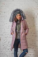 Зимнее женское пальто новинка сезона 2017-2018 - (модель кт-207)