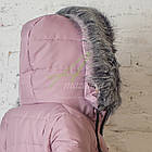 Зимнее женское пальто новинка сезона 2017-2018 - (модель кт-207), фото 3