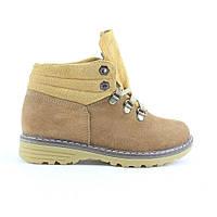 Кожаные зимние ботинки на меху (шерсть) для мальчика UNCIA SHOES