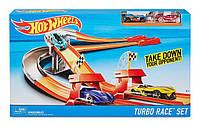 Трек Хот Вилс Турбо Гонка. Hot Wheels Turbo Race Track Set.