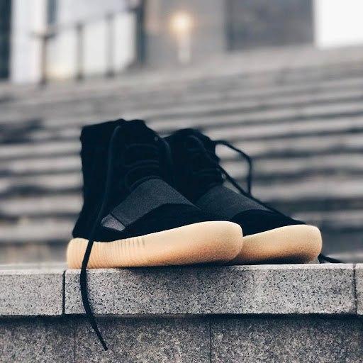 """45fe1932d8af Мужские высокие кроссовки Adidas Yeezy Boost 750 """"Black Gum ..."""